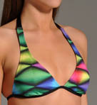 Dimension Rem Soft Cup Halter Swim Top