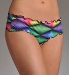 Dimension Ruffle Brief Swim Bottom