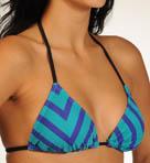 Minnow Stripe Triangle Swim Top