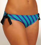 Minnow Stripe Hipster Swim Bottom