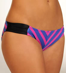 Minnow Stripe Aussie Tab Side Swim Bottom