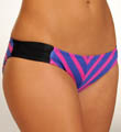 Hurley Minnow Stripe Aussie Tab Side Swim Bottom H8872