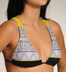 Neo Aztec Halter Swim Top