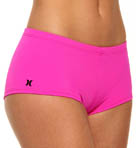 Hurley One and Only Solids Boyshort Swim Bottom HU15373