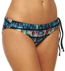 Record Scratch Adjustable Hipster Swim Bottom