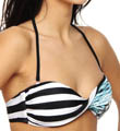Hurley Tahiti Twist Bandeau Swim Top HU27103
