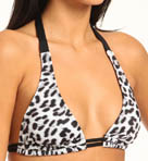 Leopard 2 Way Halter Swim Top Image