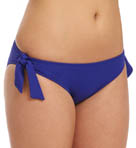 One and Only Solids Hipster Swim Bottom with Ties Image