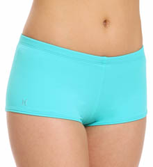 Hurley One and Only Solids Boyshort Swim Bottom HU48374