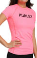 Hurley One and Only Solids Rash Guard T Shirt HU48714