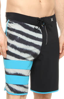 Phantom Block Party Tiger Leg Boardshort