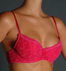 Bow Boudoir Demi Push Up Bra