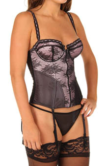 Jezebel Lust Bustier with G-String 30094