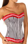 Jezebel Ruffled Edge Corset 34960