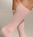 Mid Calf Pima Cotton Rib Socks Image