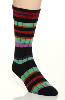 JM Dickens Multi Stripe Sock