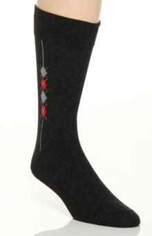 Side Argyle Sock