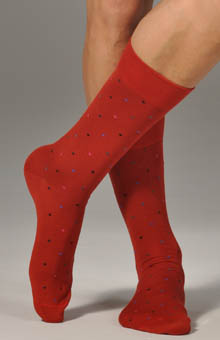 3 Color Polka Dot Sock