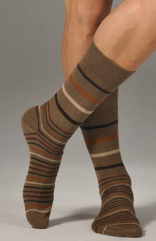 Graded Stripe Sock