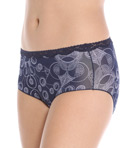 No Panty Line Promise Tactel Lace Hip Brief Panty Image