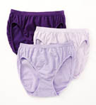 Comfies Cotton Classic Fit French Cut Panty 3 Pack Image