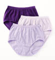 Comfies Cotton Classic Fit Brief Panty - 3 Pack Image
