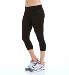 Core Body Basics Capri Legging with Wide Waistband Image