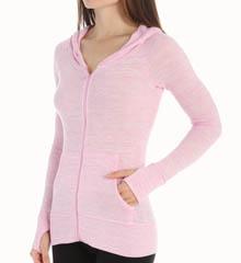 Jockey 8530 Fitness Zip Up Hooded Sweater