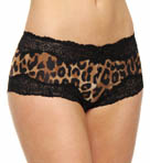 Leopard Print Boyshort Panty