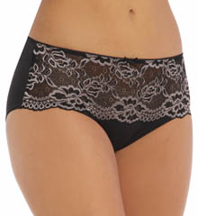 Jones New York Microfiber Lace Trim Hipster 610204
