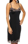 Contrast V-Neck Lace Full Slip