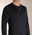 Joseph Abboud Long Sleeve Henley Shirt 017484