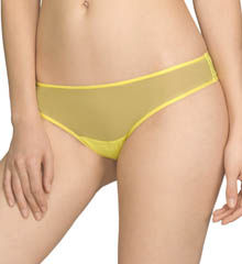 Josie By Natori Cheeky Fishnet Overlay Thong
