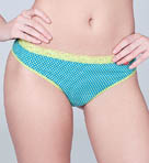 Josie By Natori Cotton Cheeky Thong 857139