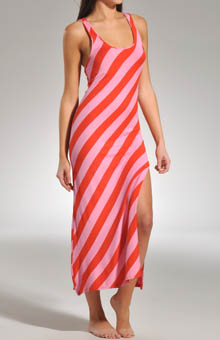 Indo Stripe Maxie Yarn Dyed Gown