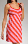 Josie by Natori Sleepwear Indo Stripe Chemise S98022