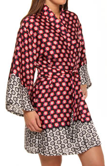 Princess Cocachin Printed Satin Wrap