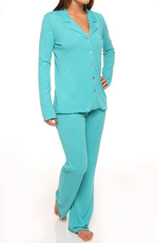 Berke Jersey Knit Notch PJ
