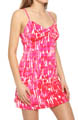 Josie by Natori Sleepwear Laila Printed Slinky Chemise T98023