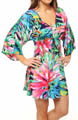 Josie by Natori Sleepwear Sampaguita Printed Slinky Tunic U92019