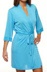 Josie by Natori Sleepwear Amelia Solid Slinky Wrap U94022