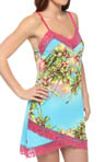 Josie by Natori Sleepwear Paradise Found Printed Slinky Chemise U98000