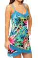 Josie by Natori Sleepwear Sampaguita Printed Slinky Chemise U98034