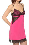 Josie by Natori Sleepwear Remy Solid Slinky Chemise U98050