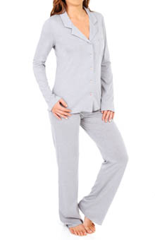 Josie by Natori Sleepwear After Hours Long-Sleeve Pajama Set