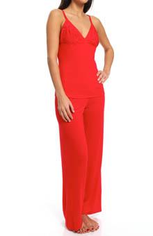 Josie by Natori Sleepwear Femme Modal Jersey Pajama Set V96037