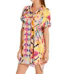 Rive Gauche Chic Printed Rayon Challis Sleepshirt Image