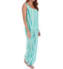 Josie by Natori Sleepwear Shabby Chic Racerback Tank Pajama Set W96117