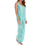 Shabby Chic Racerback Tank Pajama Set Image