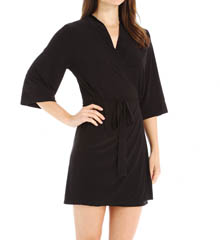 Josie by Natori Sleepwear Addictive Solid Slinky Wrap X94350